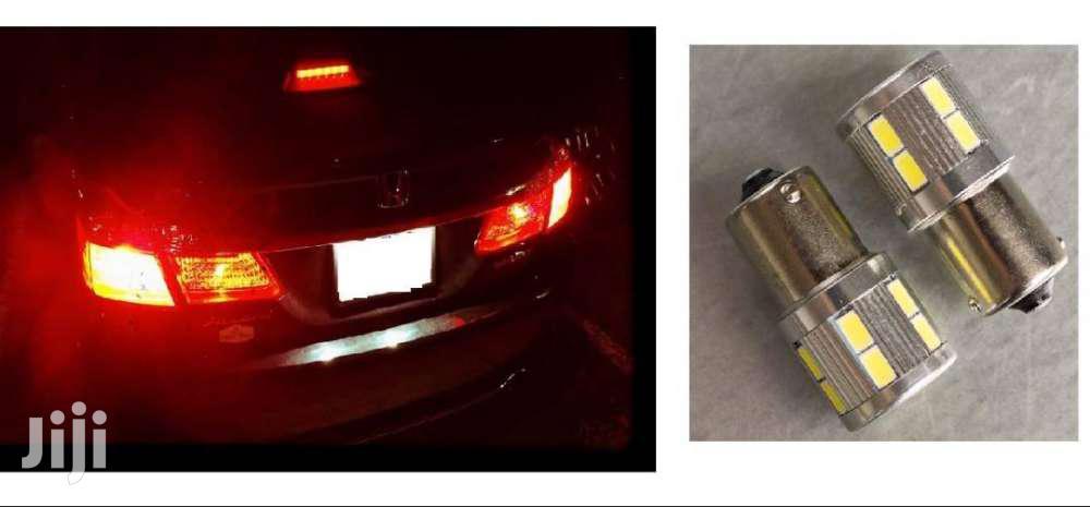 Rear Tail Lights Flashing LED Bulbs: For Subaru/Nissan/Toyota/Mazda
