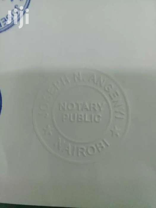 Silver Crome Pocket Embossing Company Seal | Stationery for sale in Nairobi Central, Nairobi, Kenya