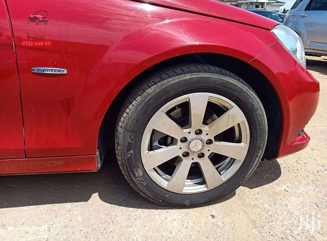 Mercedes-Benz C200 2012 Red   Cars for sale in Mvita, Mombasa, Kenya