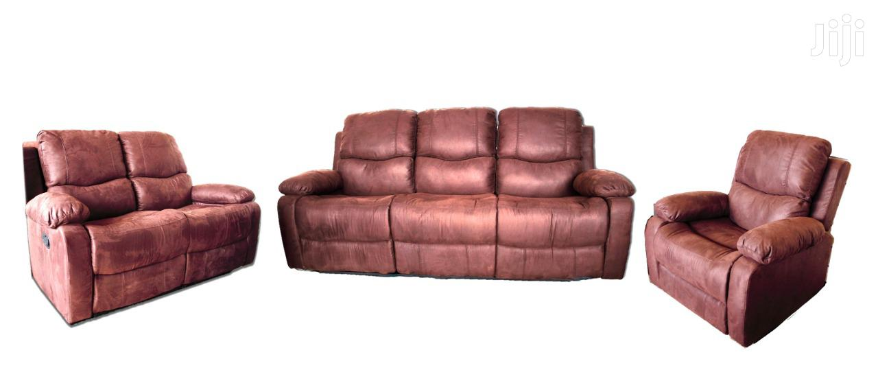 6 Seater Recliner Sofa