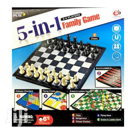 Archive: 5 in 1 Family Game