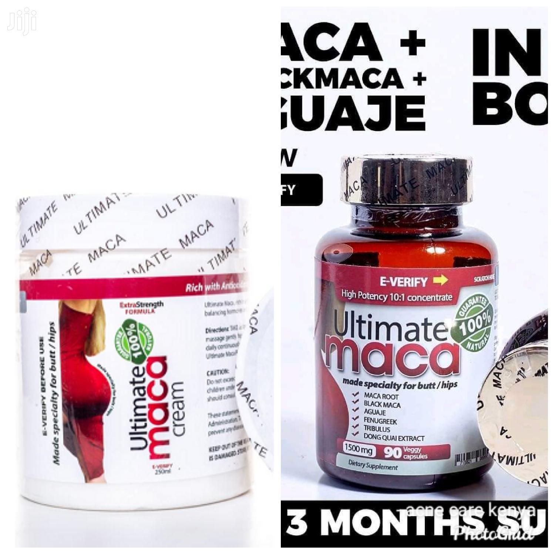 Ultimate Maca Pills Ultimate Maca Cream For Hips And Butt Enlargement