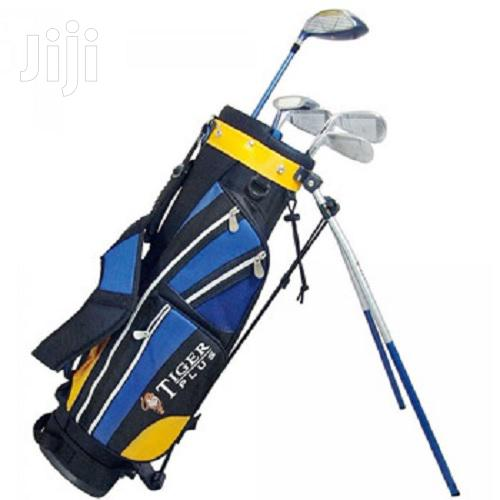 Kids Junior Golf Club Set Tiger Plus