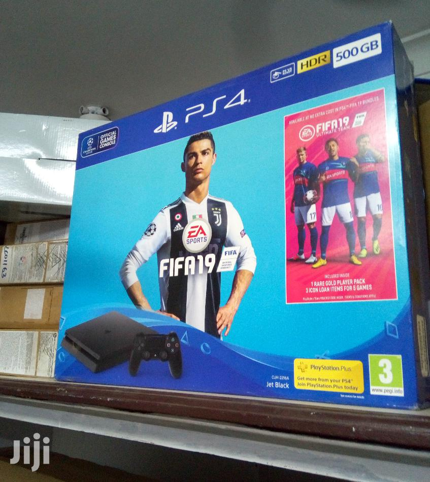 Archive: Sony PS4 Slim Gaming Console -500gb +FIFA 21 With 2 Pads