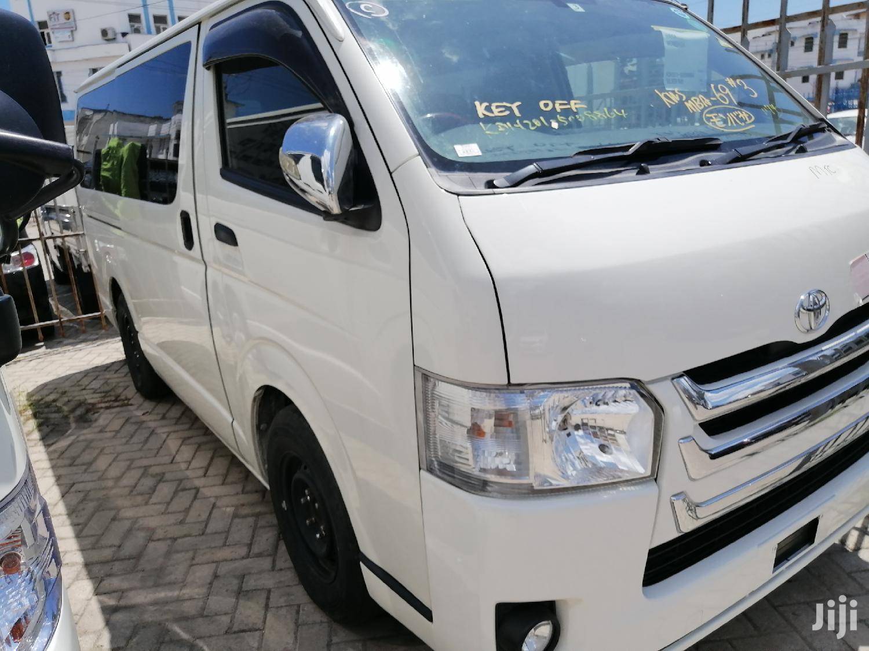 Toyota Grand Hiace 2013 White | Buses & Microbuses for sale in Moi Avenue, Mombasa, Kenya