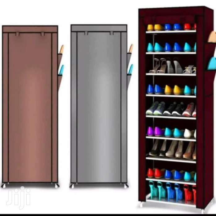 Archive: 10 Tiers Shoe Rack Cabinet
