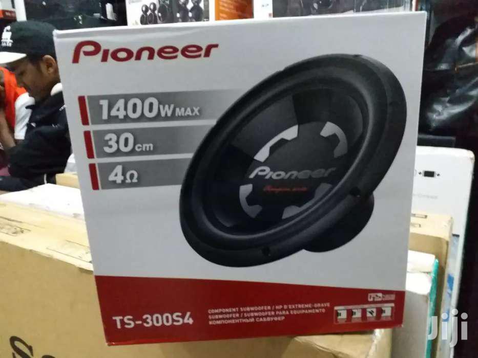 Deep Bass Pioneer TS-300S4  Brand New 1400 Watts Car Woofer