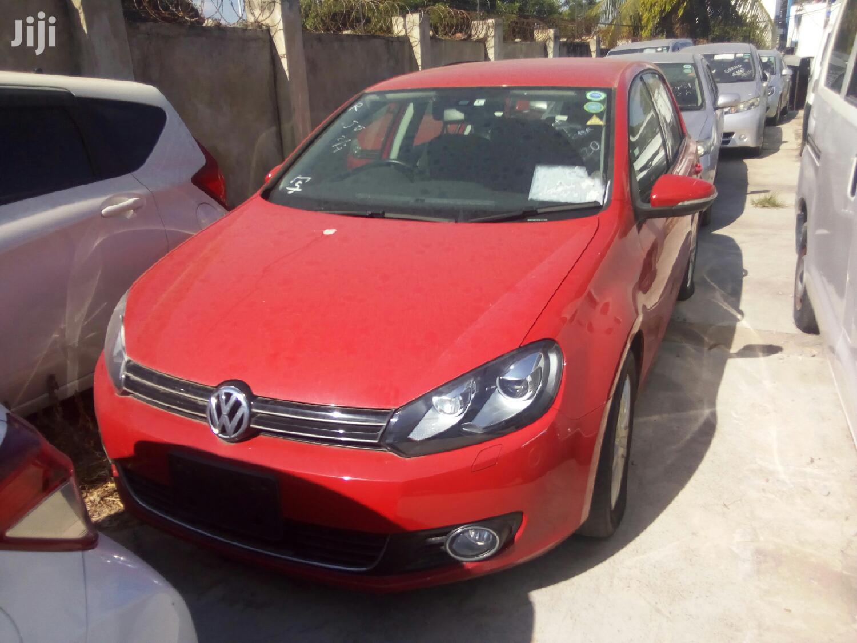 Volkswagen Golf 2013 Red   Cars for sale in Mvita, Mombasa, Kenya