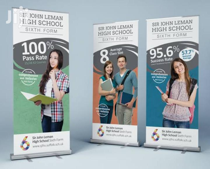 Roll Up Banner Printing High Quality
