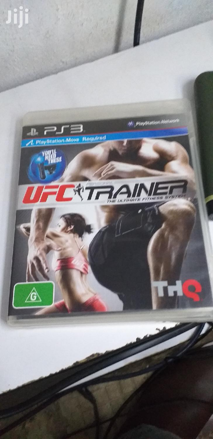 Ufc Trainer Ps3 Game