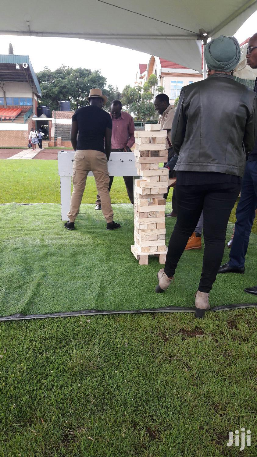 Archive: Giant Jenga For Hire