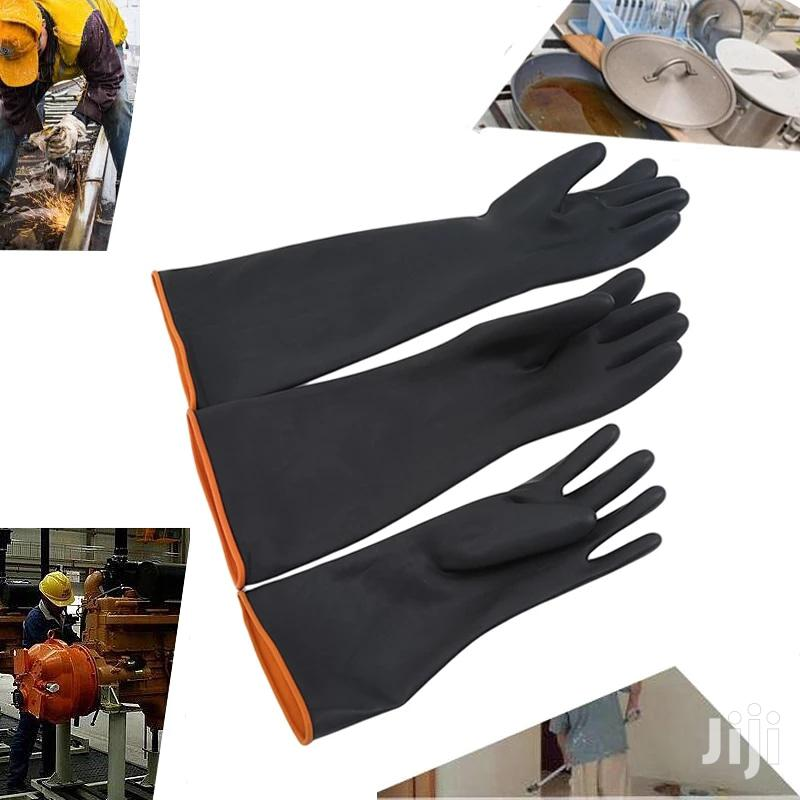 Rubber Gloves 16 Inch