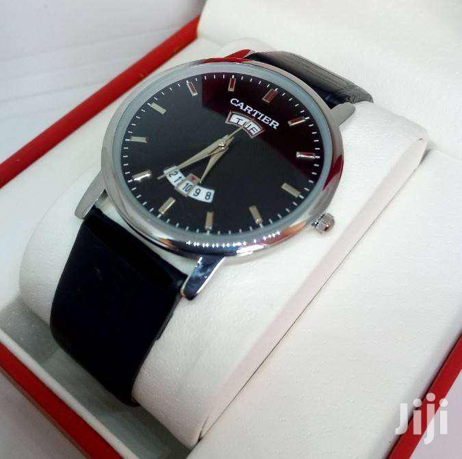 Archive: Leather Straps CARTIER Watch