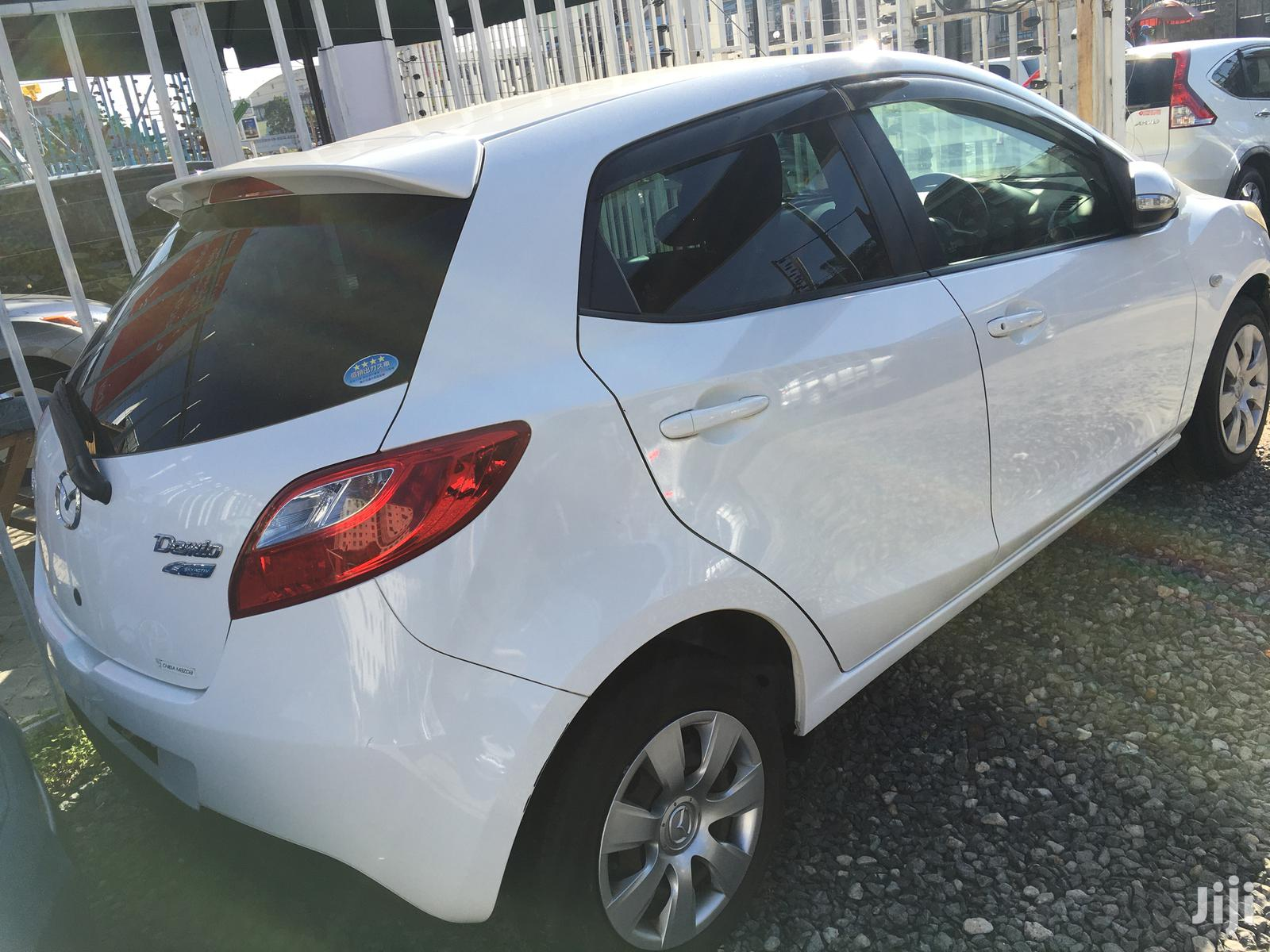 New Mazda Demio 2012 White | Cars for sale in Makina, Nairobi, Kenya