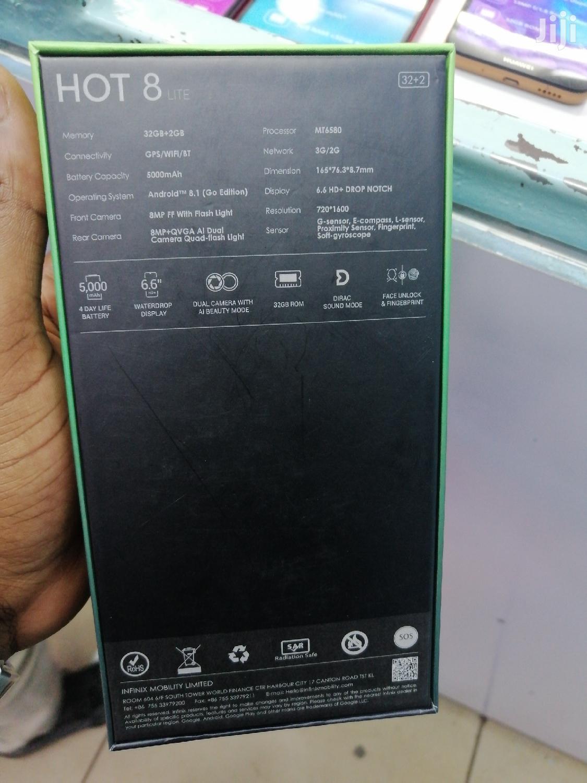 New Infinix Hot 8 32 GB Black | Mobile Phones for sale in Nairobi Central, Nairobi, Kenya
