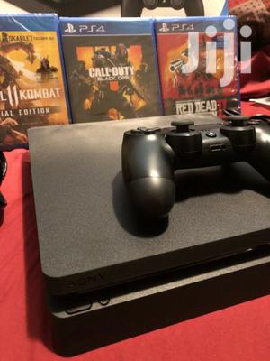 Ps4 Slim Chipped With 15 Games Free   Video Game Consoles for sale in Nairobi, Nairobi Central