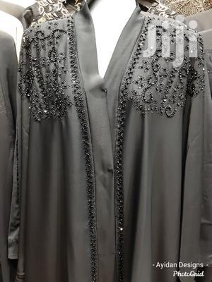 New Classy Beaded Wide Abaya