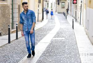 Denim Jeans + Denim Shirt Set   Clothing for sale in Nairobi, Nairobi Central