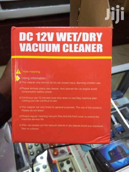 DC 12V Wet/Dry Vacuum Cleaner | Home Appliances for sale in London, Nakuru, Kenya