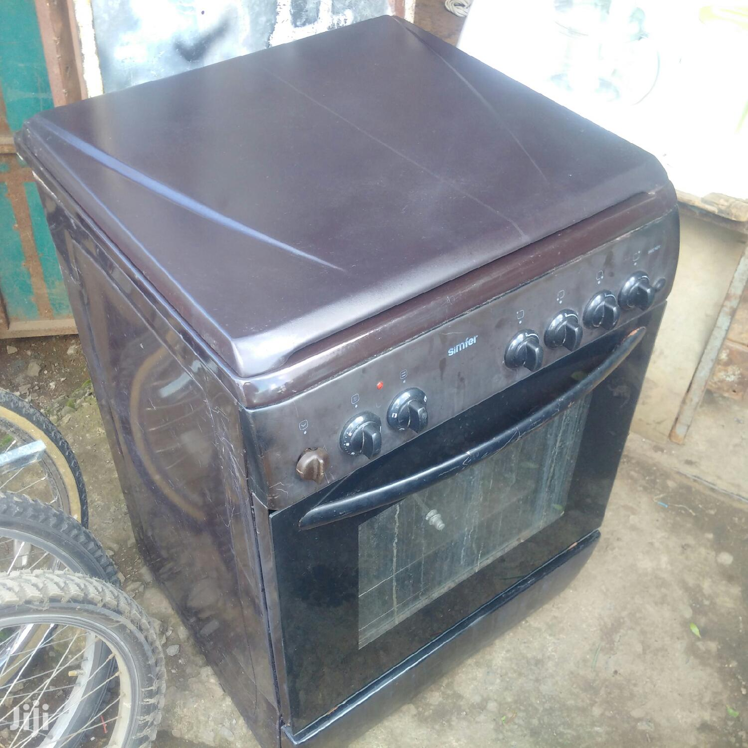 Simfer 4 Gas Cooker ,1 Electric Oven
