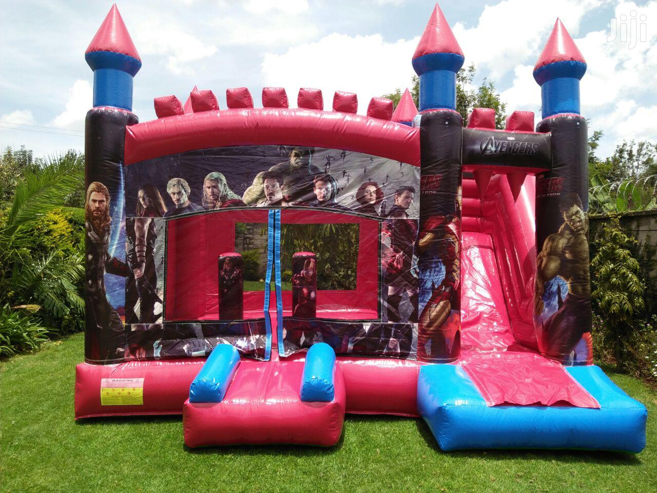 Spacious Bouncing Castles With Slide For Hire