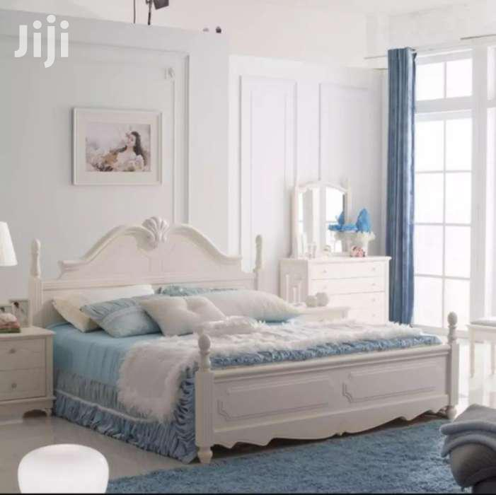 Archive: 6x 6 Bed,Two Side Cabinets And Dressing Mirror