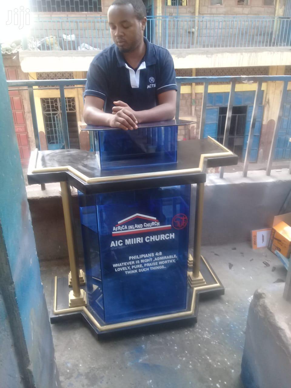 Church Podiums / Pulpits | Furniture for sale in Nairobi Central, Nairobi, Kenya