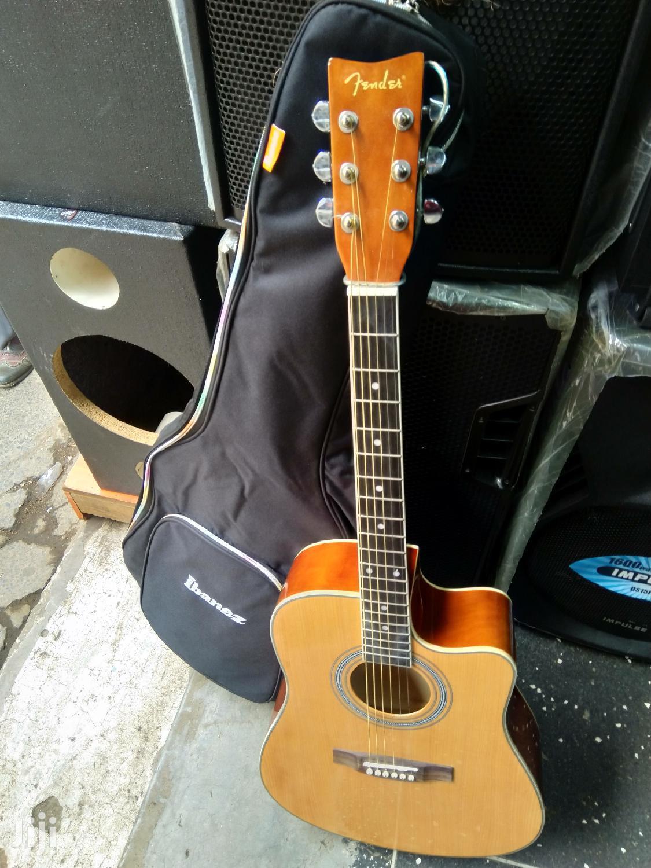 Semi Acoustic Guitar And Bag