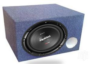 New Sony Xplod 1800 Watts Single Coil Sub In Cabinet | Vehicle Parts & Accessories for sale in Nairobi, Nairobi Central