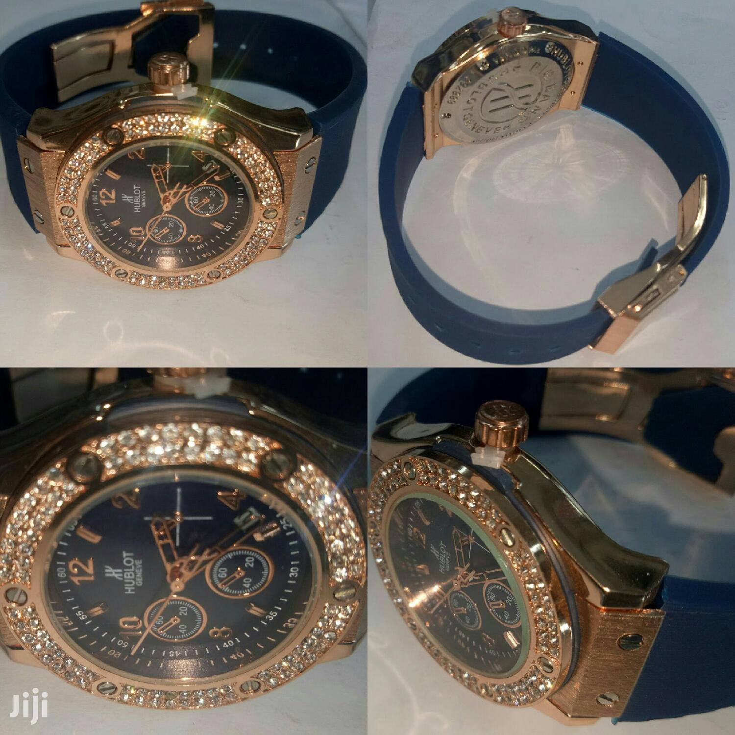 Small Blue Hublot for Ladies