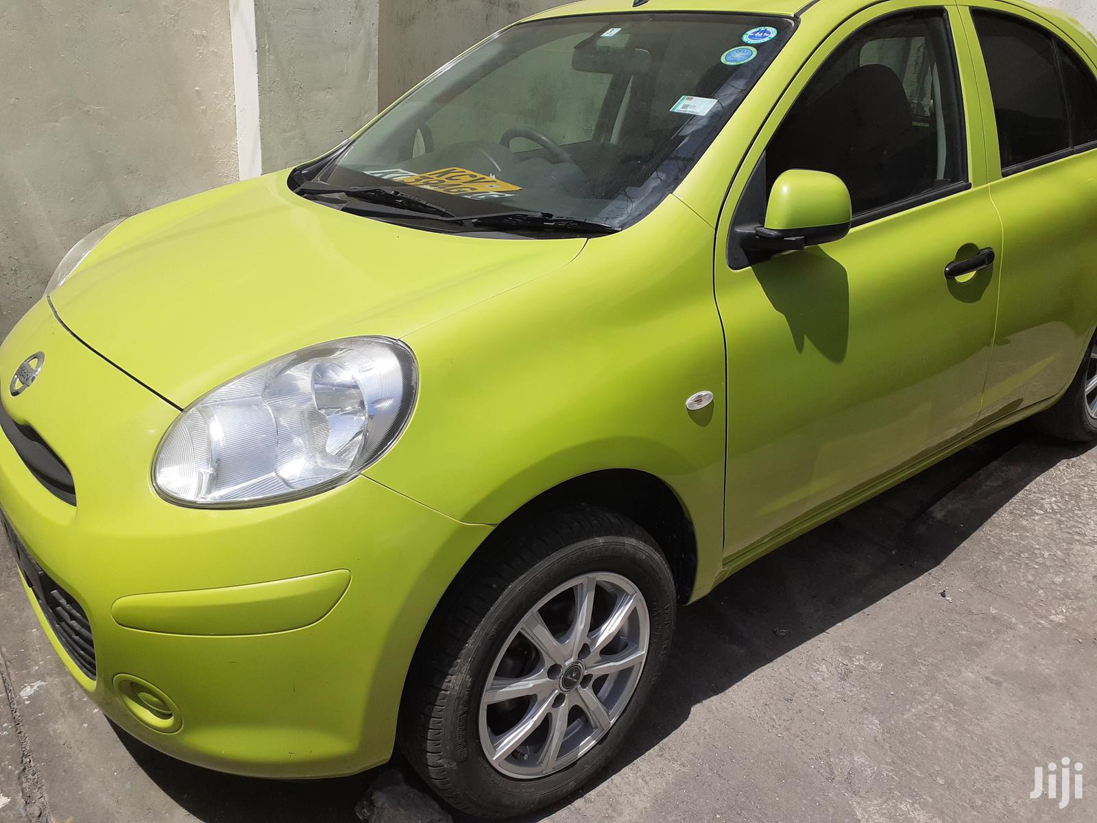 New Nissan March 2012 Green