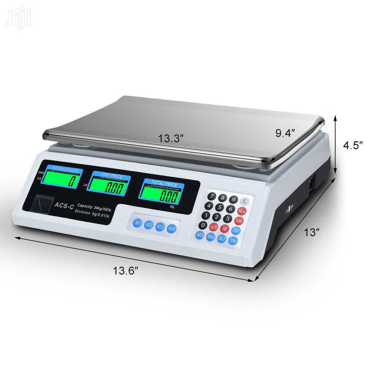 30kg Electronic Price Computing Scale Digital Weighing Scale