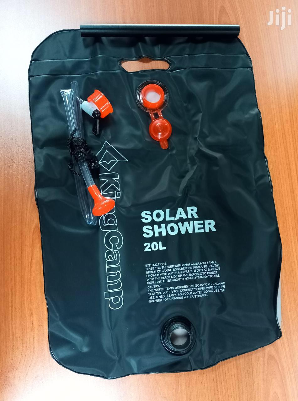 Portable Camping Shower (Solar Heating)