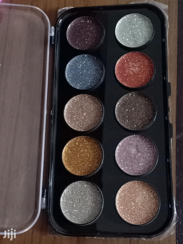 Huda Beauty 10 Ultrapigmented Glitter Shadow Palette   Makeup for sale in Nairobi South, Nairobi, Kenya