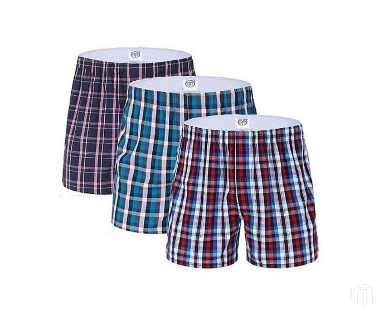 3 in 1 Men Cotton Boxers   Clothing for sale in Nairobi Central, Nairobi, Kenya