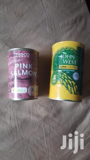 TUNA FISH In Tin (John West ) And Pink SALMON