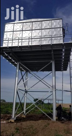 Steel Tank Steel Tank Tower High Commercial Water Supply | Other Repair & Construction Items for sale in Kitui, Kyuso
