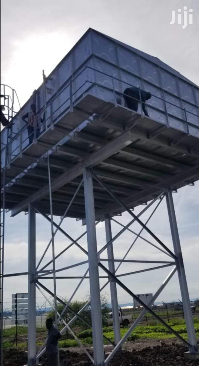 Steel Tank On Steel Tank Tower High Capacity Commercial Water Supply | Other Repair & Construction Items for sale in Kyuso, Kitui, Kenya