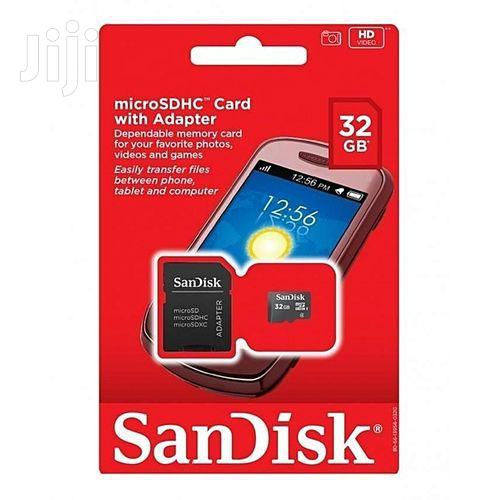 Sandisk Best Selling 32GB Memory Card - For All Phones