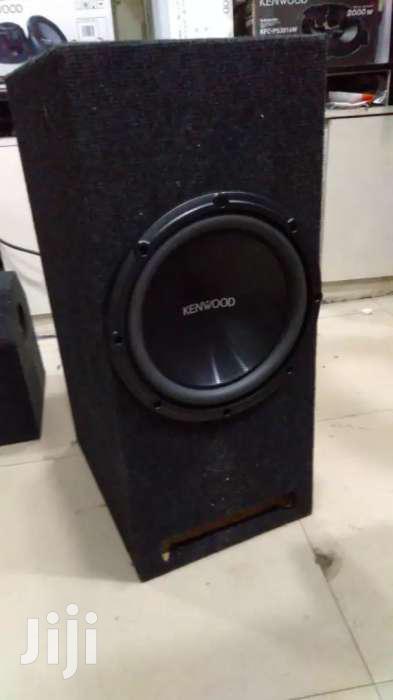 Deep Earth Shaking Bass Kenwood 1200 Watts Bigslot Cabinet New In Shop