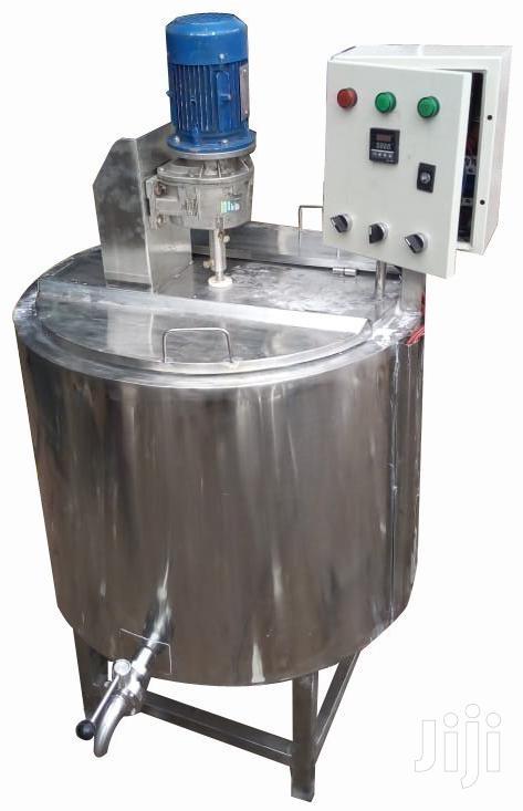 Batch Milk Pasteurizer/Boiler