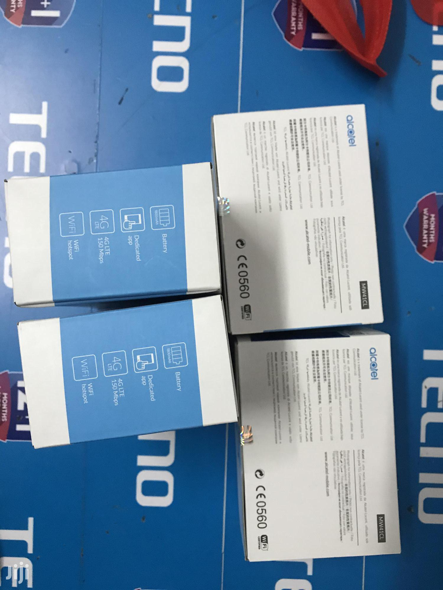 Alcatel Mw1cl 4G Wifi Router | Networking Products for sale in Nairobi Central, Nairobi, Kenya