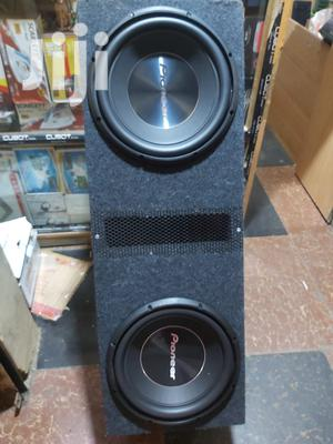 Two Pioneer 1500watts Double Coil In Cabinet. Car Sub. | Vehicle Parts & Accessories for sale in Nairobi, Nairobi Central