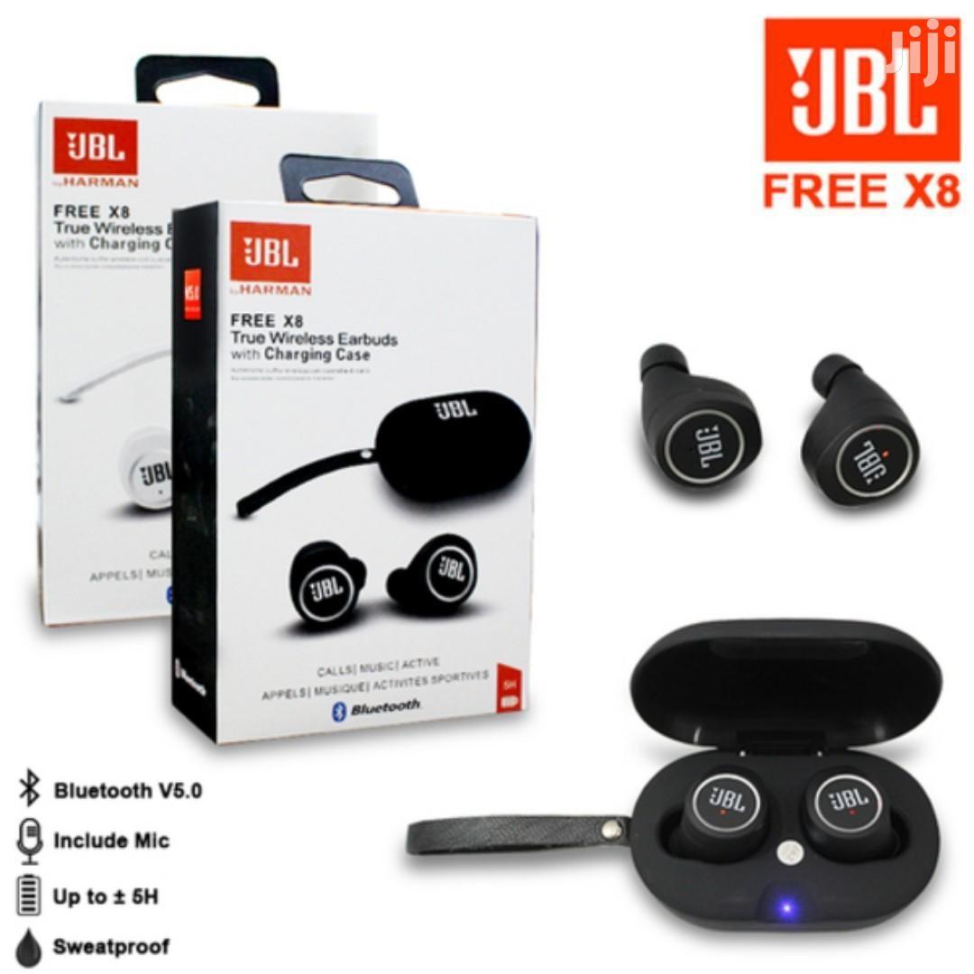 Jbl Free Tws X8 Bluetooth Wireless Earbuds