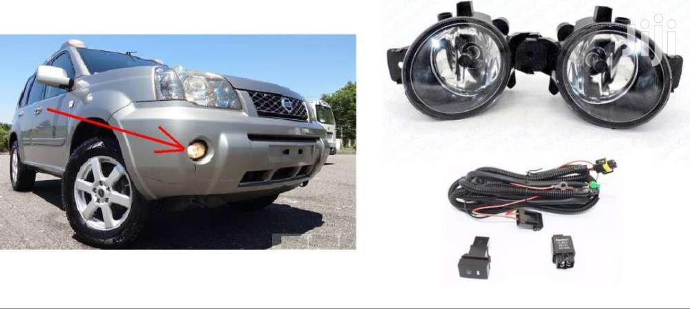 T30: Nissan Xtrail: Yr2001/6: Fog Lamp Set