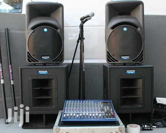 Archive: PA System For Hire
