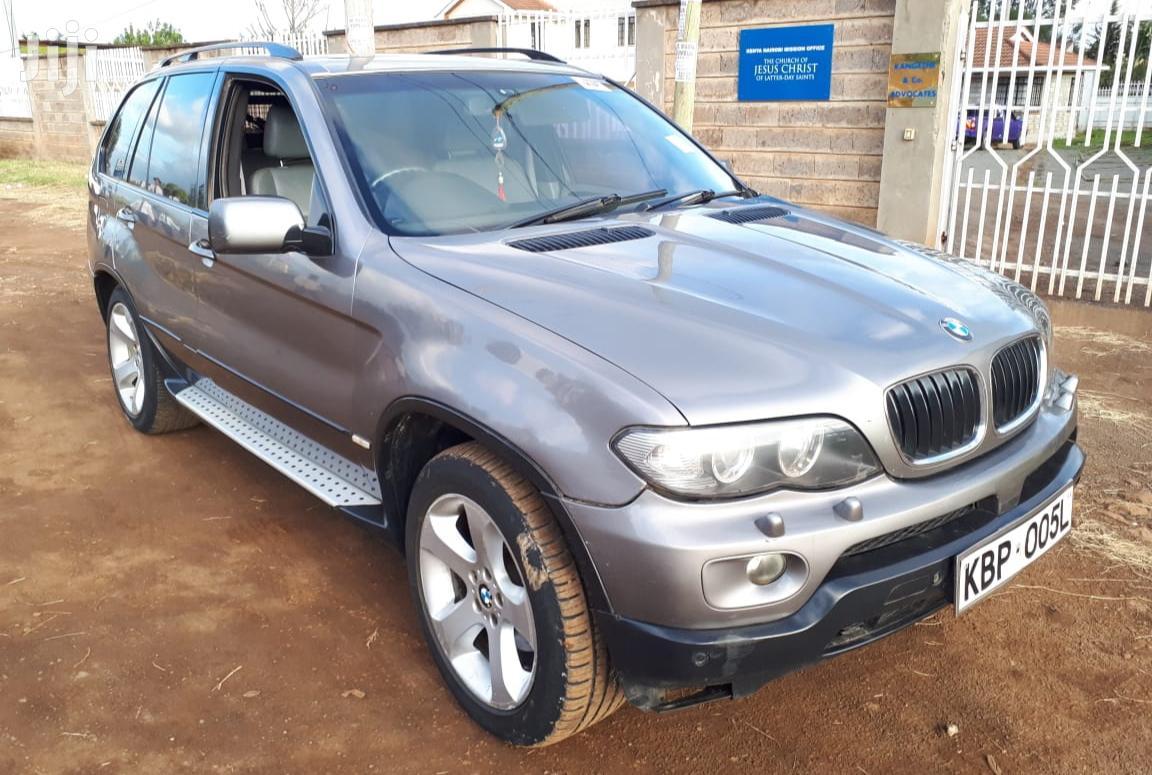 BMW X5 2005 3.0d Automatic Silver