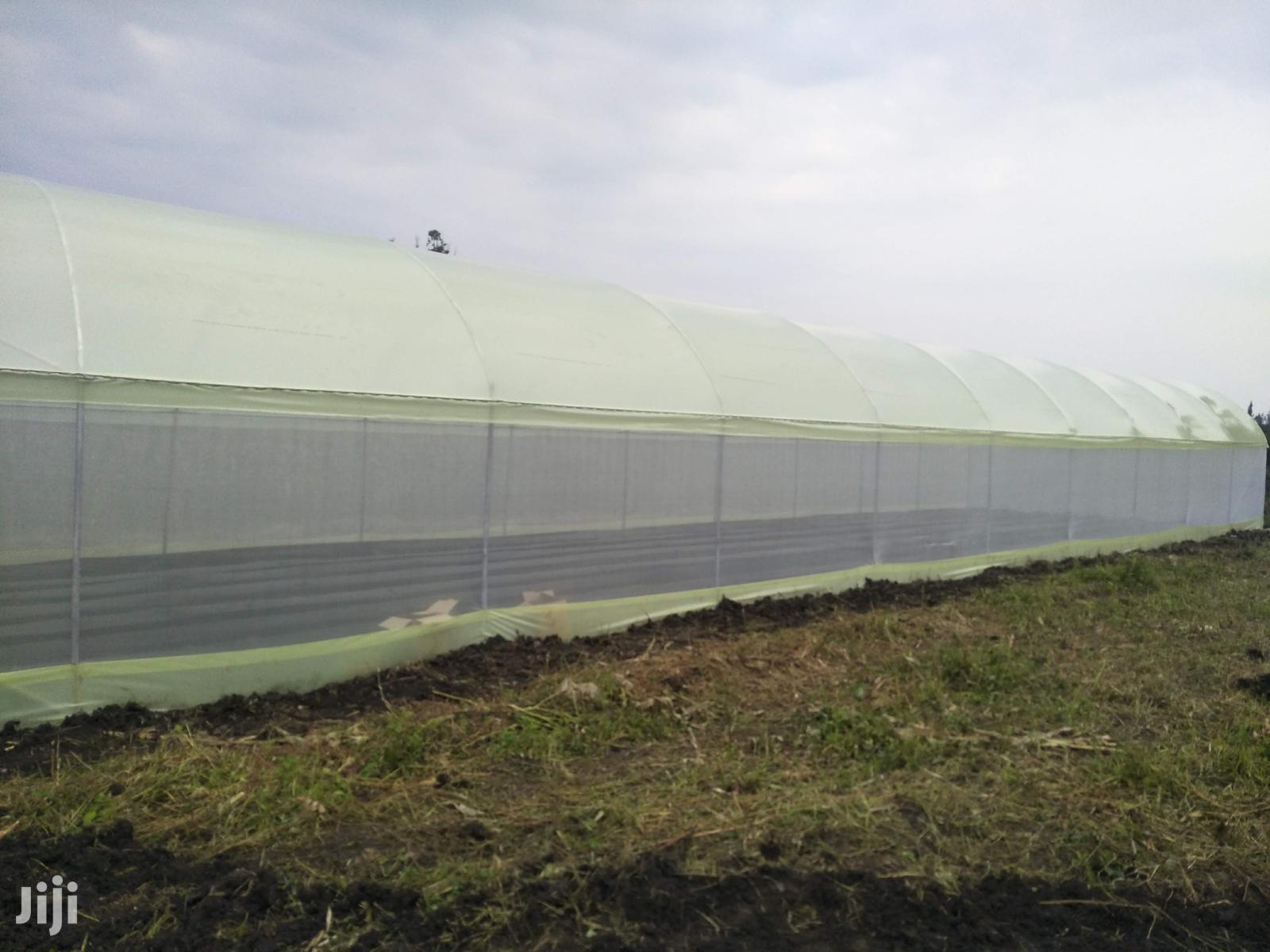 Greenhouse And Dam Installation
