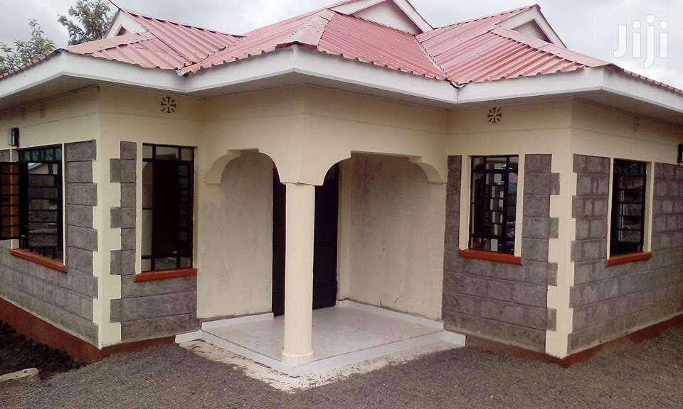 Newly Built 3 Bdrm Bungalow To Rent In Ongata Rongai, Rimpa