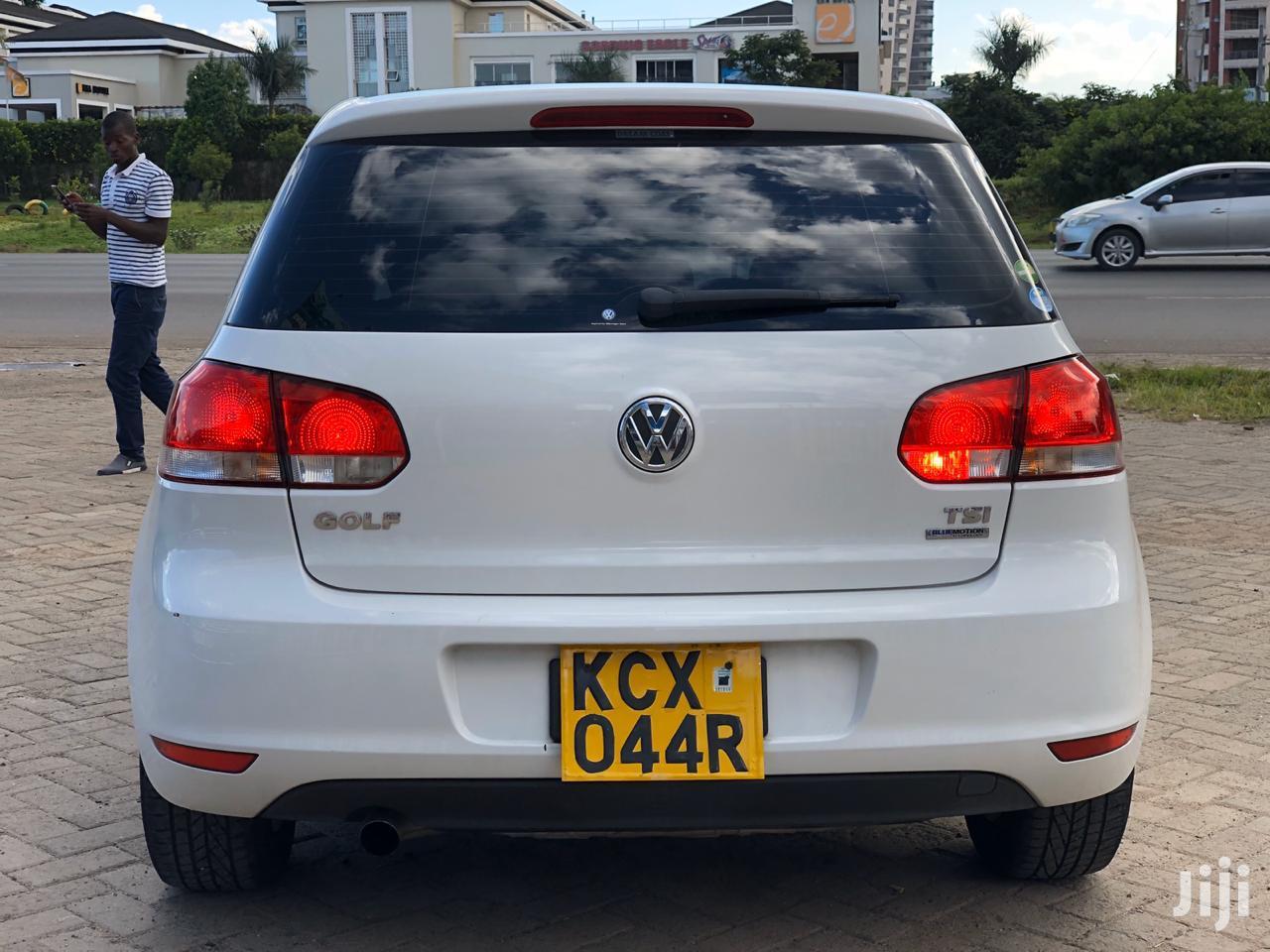 Volkswagen Golf 2012 White   Cars for sale in Nairobi South, Nairobi, Kenya